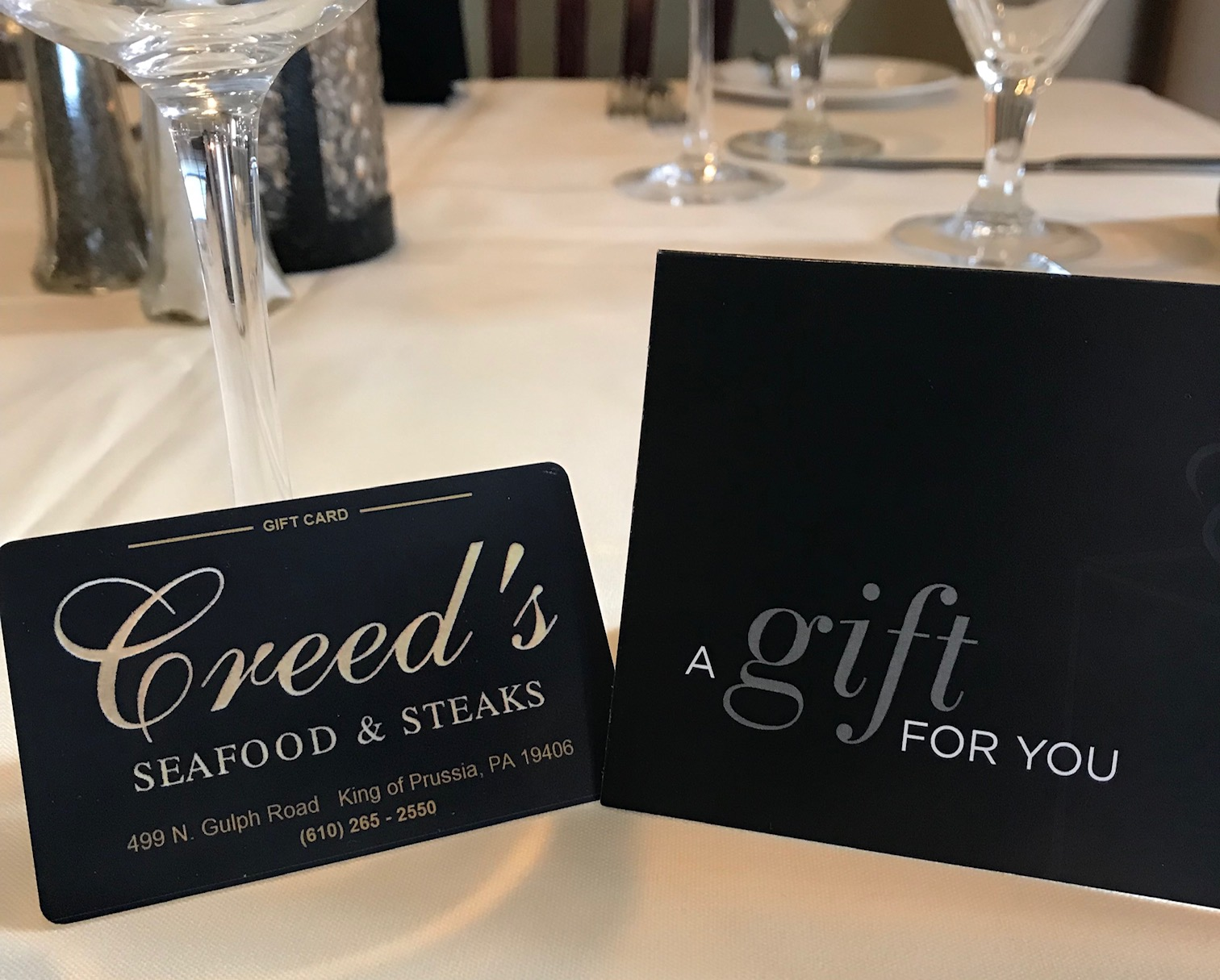 Exclusive Features | Creed's Seafood & Steaks